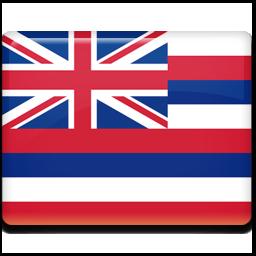 ハワイ州旗 大きさ色々 世界のフラ タヒチアン ハワイアン無料素材