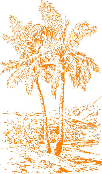 ハワイなクリップアート35種