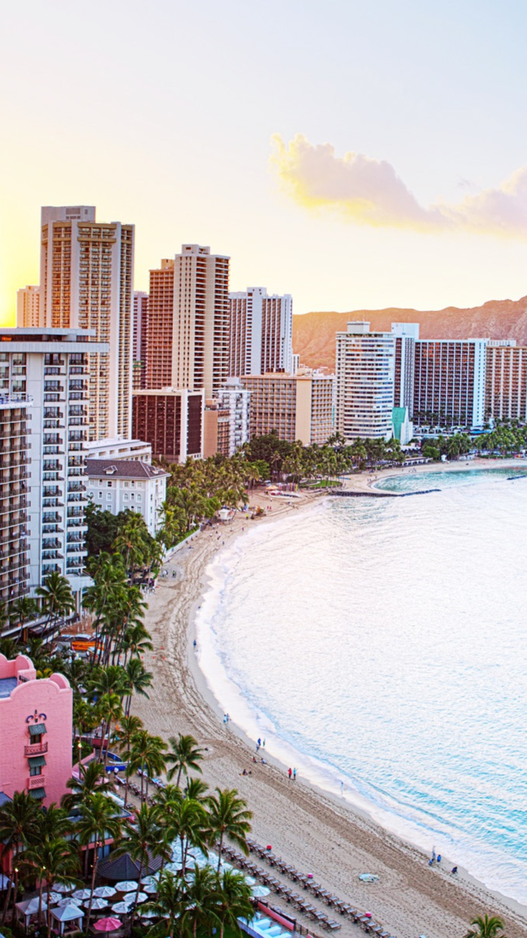 高画質なハワイの風景 Iphone6 Plus用壁紙 16枚 世界のフラ