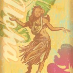 Vintageなハワイアンポスター集